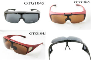 80d98b3d265ae OTG1045 Polarizer Fit Over The Glasses Flip up Overfit Polarized Sunglasses  for Fishing Golfing Driving Outdoor