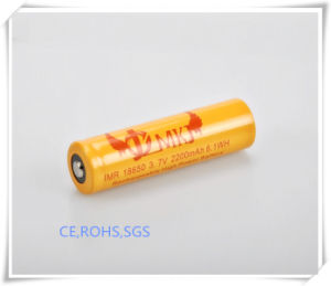 Li-ion 18650-2200mAh, Power Bank, E-Cigarette, Power Bank, High Cap, Flashlight, Li Ion Battery