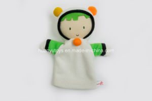 Factory Supply Knit Sweater Fabric Baby Hand Puppet Toy pictures & photos
