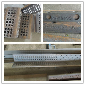 CNC Angle Punching, Marking and Shearing Line pictures & photos