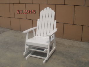 Outdoor Adirondack Wood Chair Foldable Ottoman Patio Gliders