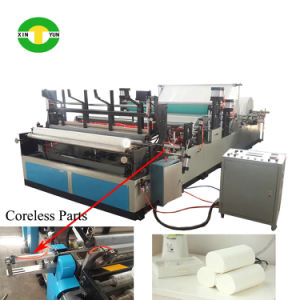 Fully Automatic Core and Core-Less Rewinding Toilet Paper Making Machine pictures & photos