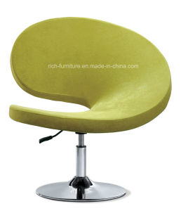 Popular Metal Base Swivel Bar Chair (Yellow) pictures & photos