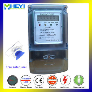 Smart Energy Meter Free Plastic Meter Seal Auto Shunt off Power pictures & photos