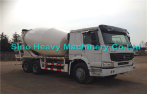 20 Cbm HOWO 6X4 Self Loading Concrete Mixer Truck with Italy PMP Pump