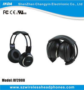 Foldable RF Silent Party Wireless Headphone with 500m Distance