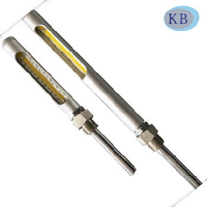 Metal Tube All Stainless Steel Glass Thermometer pictures & photos