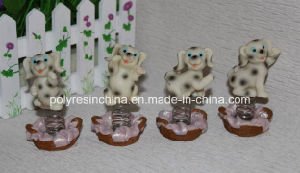 Resin/Polyresin Dog with Spiral for Desk Top Gifts pictures & photos