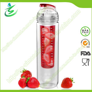28oz Tritan Flavor Fruit Infuser Water Bottle, Infuser Bottle