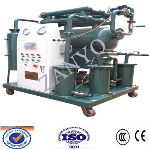 Weather-Proof Single Stage Vacuum Transformer Oil Purification Machine