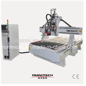 Omni Wood CNC Router with Saw for Cutting