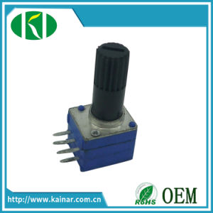 9mm Stereo Volume Control Potentiometer with Plastic Bush Wh9011bp-2 pictures & photos