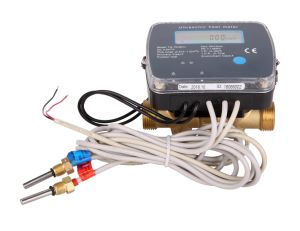 ultrasonic heat meter with m-bus or rs-485 (3/4