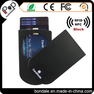 Card Protector Plastic Card Holder with RFID Protector