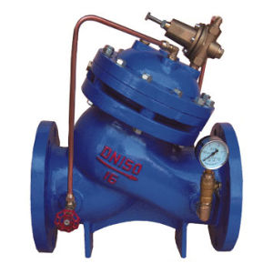 Yx741X Pressure Reducing, Pressure Sustaining Valve