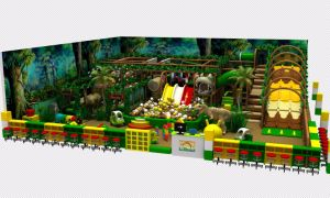 Excellent Design High Quality Cheap Indoor Playground for Children