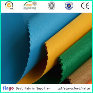 100% Polyester Oxford 150d*150d PU Coating Fabric for Bags Lining pictures & photos