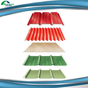 Building Materials Color Coated Galvanized Steel Roofing Sheets