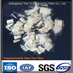 Pan Polyacrylonitrile Fiber for Construction and Raw Materials pictures & photos
