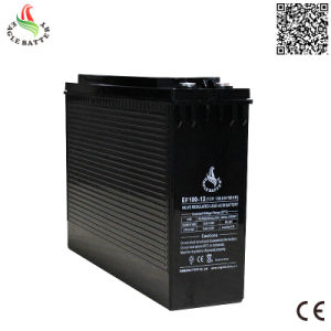 Front Terminal 12V 100ah Rechargeable Mf Lead Acid UPS Battery