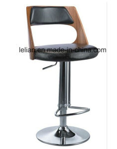 Commercial Bar Stool Bar Chair with Solid Wood Frame (LL-BC057) pictures & photos