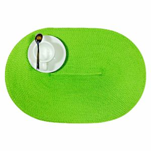 Oval PP Placemat for Tabletop