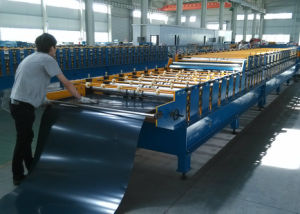 Corrugated Profile Metal Forging Roll Forming Machine pictures & photos