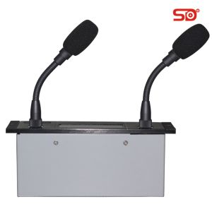 Embedded Conference Microphone with Two Microphone Rod Se528c Singden