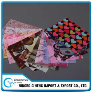 20GSM-250GSM Printed Wholesale Polyester Pet Non Woven Fabric Types pictures & photos