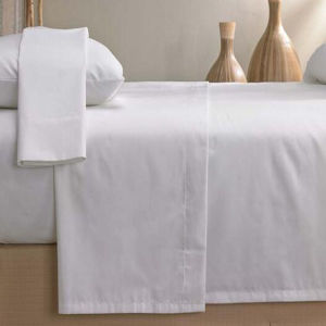 100% Cotton Beige Color Fitted Sheet Bedding Sheet (DPF1055) pictures & photos