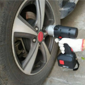 900nm Cordless Impact Wrench Truck Bolts Wrench Lithium Battery Torque Wrench Repair Automobile Socket Wrench