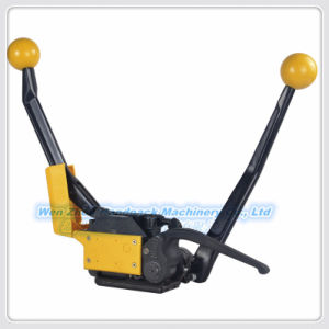 Manual Buckle-Free Steel Strapping Tool pictures & photos