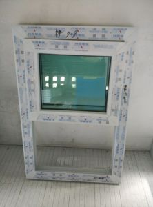 60mm Series Lifting UPVC Window pictures & photos