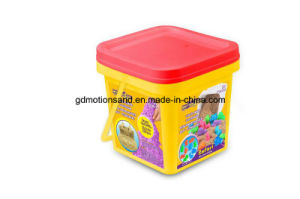 Deluxe Bucket - Safari Sand Motion Sand Play Sand DIY Kids Toy Educational Toys