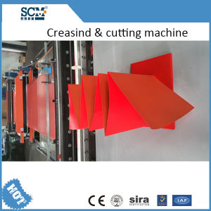 Automatic Paper Creasing and Cutting Machine