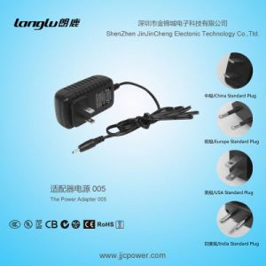 9V/1.5A/13.5W AC/DC Universal Switching Power Adapter