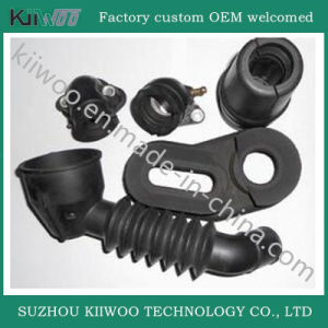 Customized Industry Use Molded Flexible Silicone Rubber Bellows