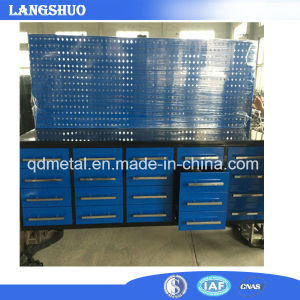 Workshop Stainless Steel Storage Cabinet/Tool Trolley with 20 Drawers