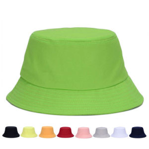 Fashion Foldable Plain Cotton Twill Bucket Leisure Hats (YKY3223) pictures & photos