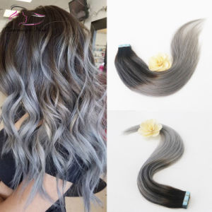 Tape extensions ombre