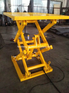 Heavy Duty Stationary Electric Hydraulic Scissor Lift Table (LZ-SJG)