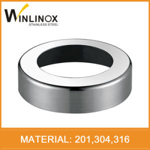 Inox Dome Plate Cover, Stair Handrail Cover, Railing Base Cover