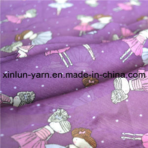 Wholesale High Quality Plain Printed Chiffon Fabric pictures & photos