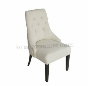 Modern Lounge White Linen Fabric Leisure Chair Furniture