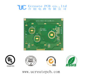 94V0 PCB for Electronic Ballast with Green Solder Mask pictures & photos