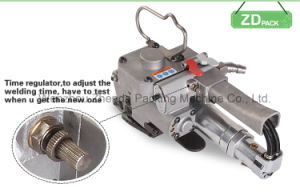 Pneumatic Strapping Tool Hand Packing Tool for PP/Pet Strap Auto Machine (AQD-19) pictures & photos