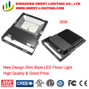 30W New Super Slim Top Quality LED Flood Light with 5 Years Warranty pictures & photos