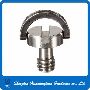 """Metal 1//4/""""Camera Connecting Screw Captive Folding D-Ring Adapter Screw 6A"""