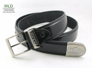 Classic and Basic Man Belt with Split Leather Linning M701 pictures & photos