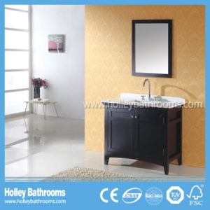 American Style Hot Selling Classic Solid Wood Bathroom Sink (BV148W)